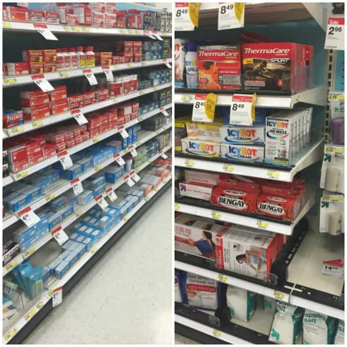 where to find tylenol and bengay