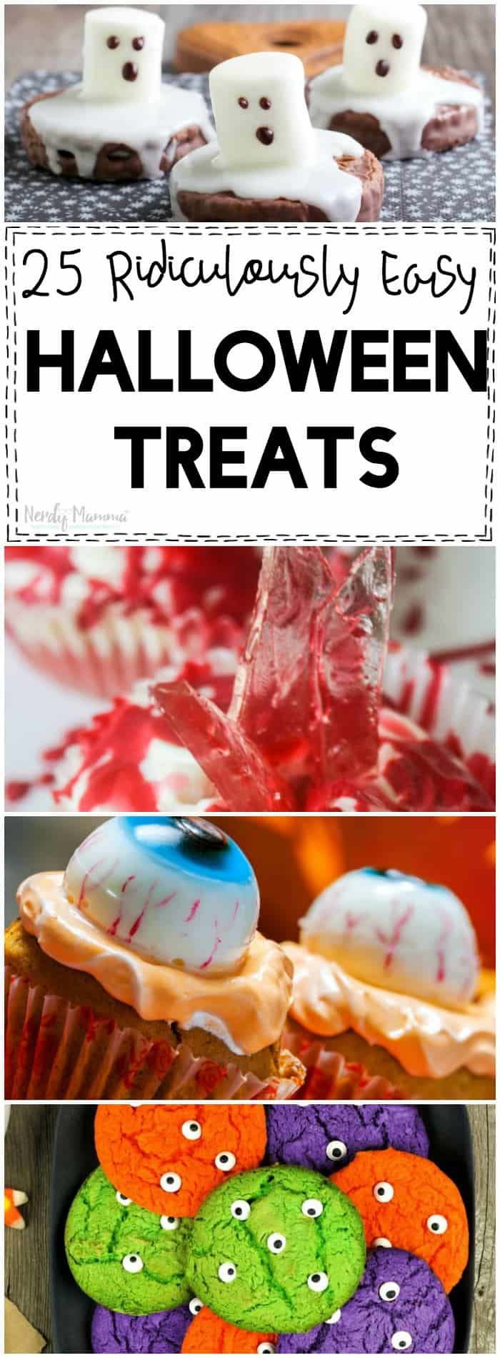 OMG These Halloween treats are easy, adorable, and fun!