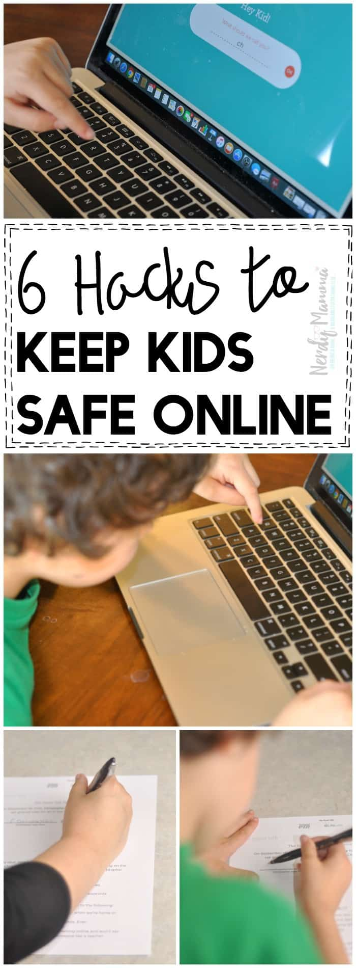 The internet becomes super scary when your kids start using it! You NEED these hacks to keep kids safe online!