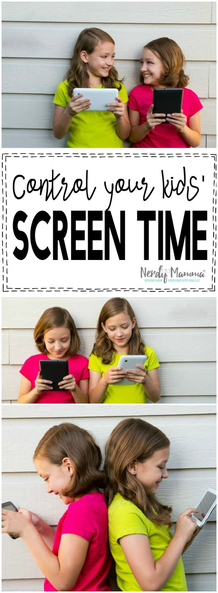 This is a genius way to get some control over my kids' screen time. Now I don't have to worry about what they're looking at on the tablet.