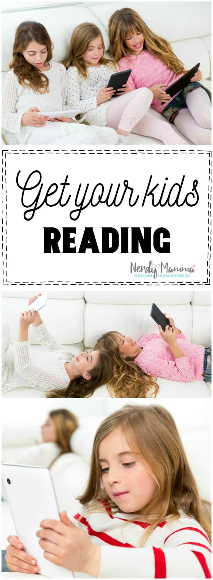 This is a great way to get my kids to start reading. They're already on the tablet anyway.