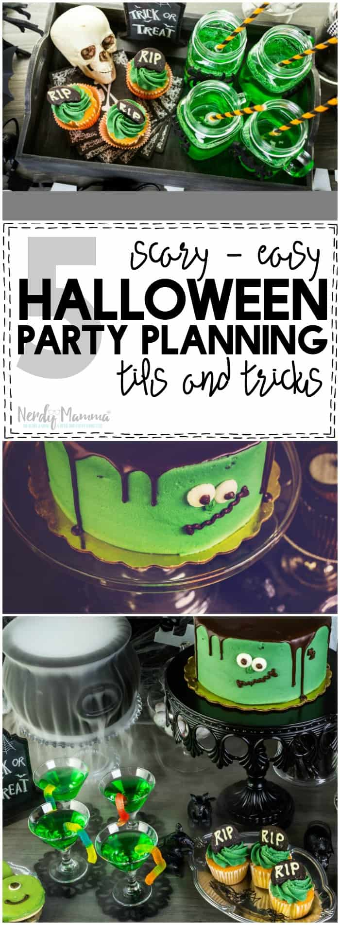 I love how simple setting up a Halloween Party can be with these 5 Scary-Easy Halloween Party Planning Tips and Tricks! She makes it so simple...