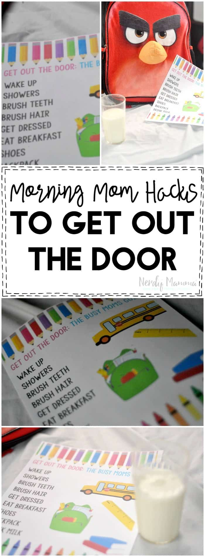 Getting out of the door in the morning sucks. I NEED these morning hacks!!