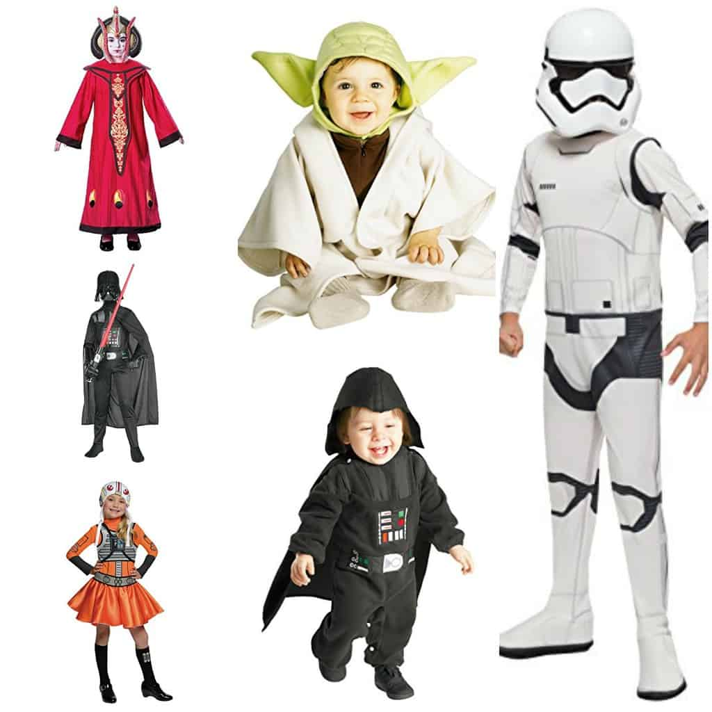 These Star Wars costumes for kids are seriously perfect for Halloween! If you have a star wars fan, you've got to check this out!