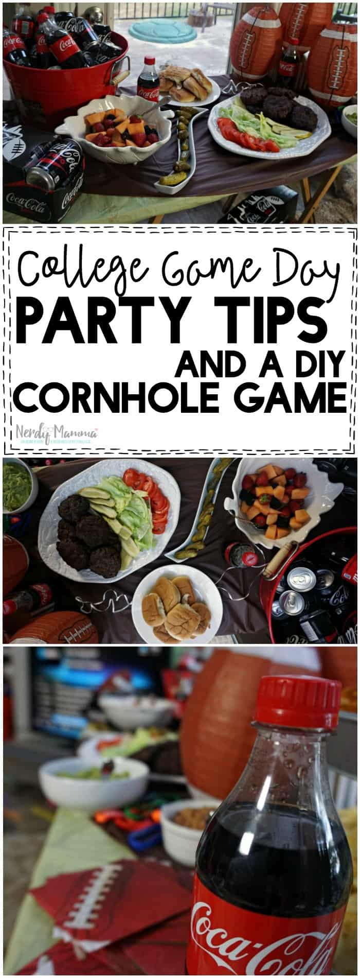 These party tips for College Game watching make throwing a party seem so simple! I love it!