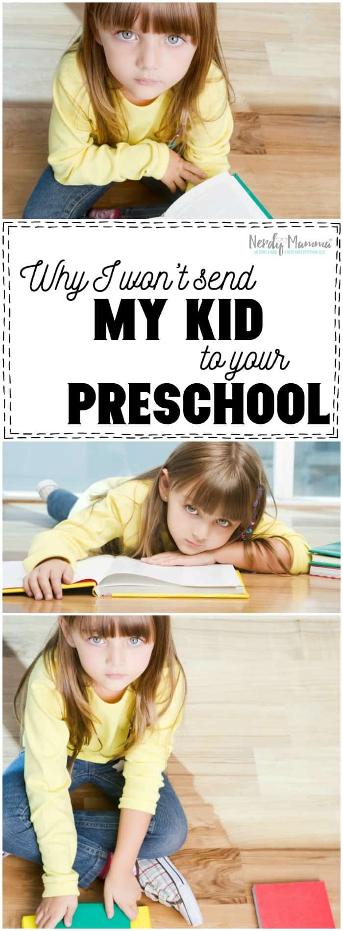 THis mom is right. We don't have to send our kids to preschools that don't care about ALL kids. Not cool.