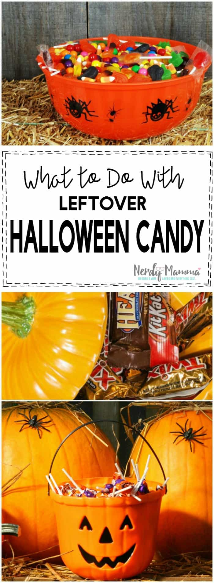 OMG, I always have so much leftover candy and I don't want to eat it all myself. These are GREAT options.