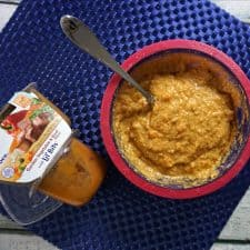 Hearty Overnight Oatmeal for Toddlers