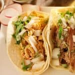 shredded chicken street taco recipe fea