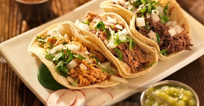 shredded chicken street tacos fb