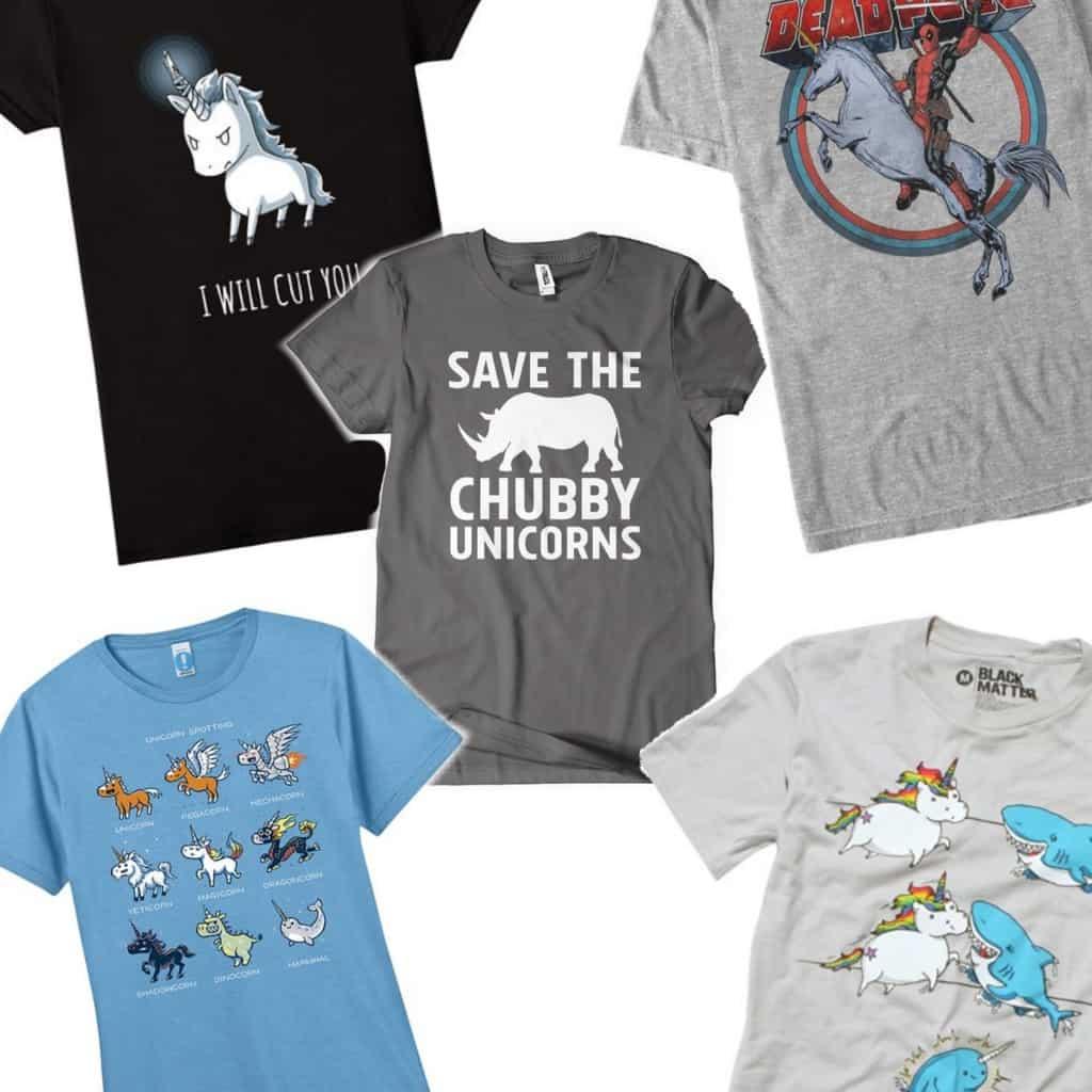 unicorn t-shirts to go with your lularoe sq