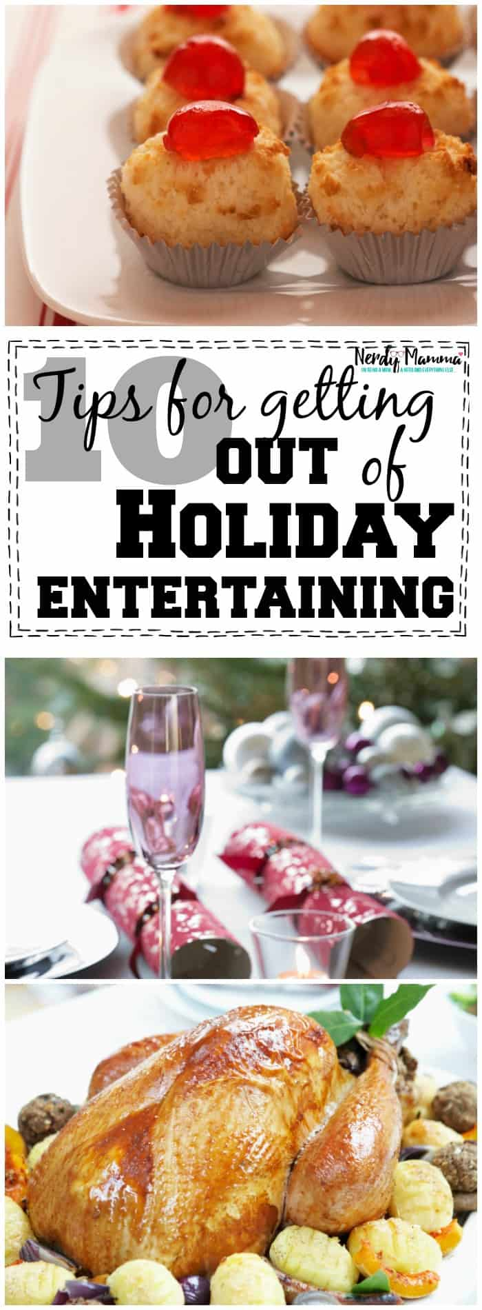 10 tips for getting out of holiday entertaining