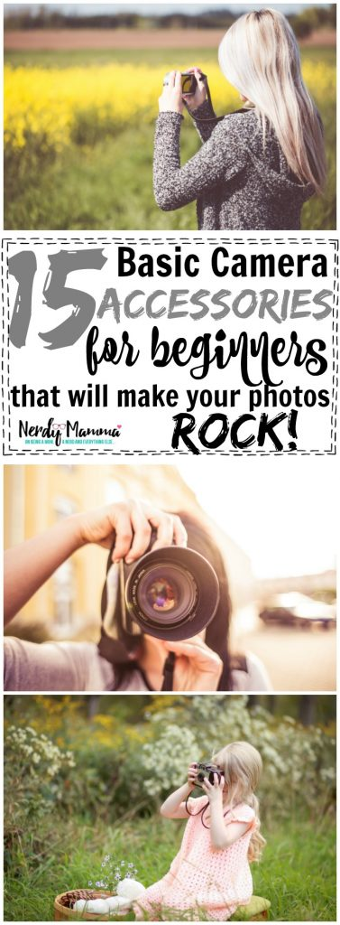 15 Basic Camera Accessories for Beginners {that will make your photos ROCK}