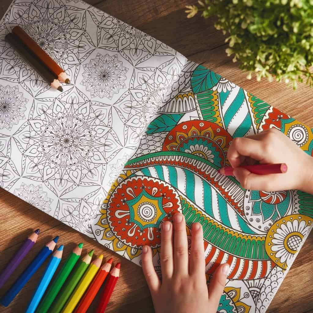 Coloring is so much fun and relaxing! You should definitely try it ASAP.