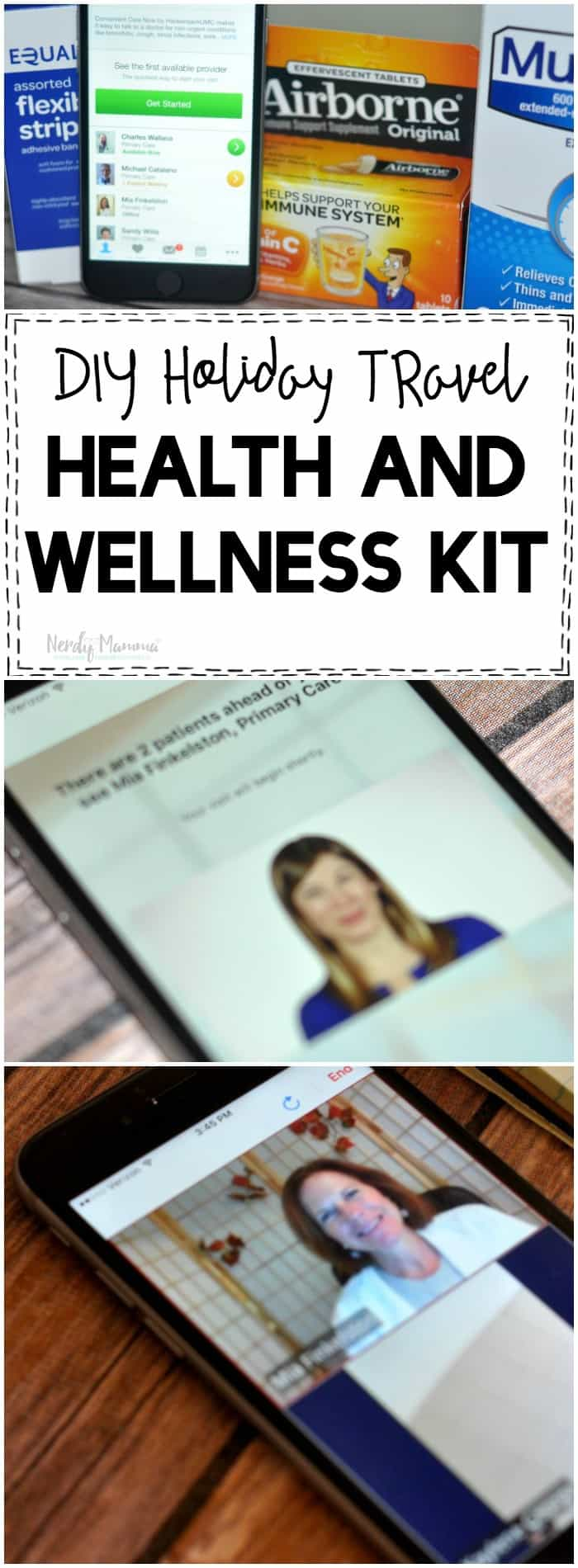 Woah. If you're traveling for the holidays you absolutely NEED to make one of these DIY Holiday Travel Health and Wellness Kit!