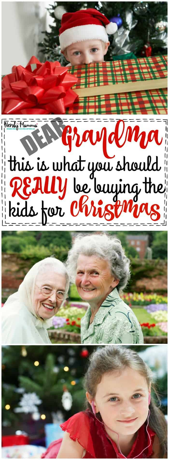 Dear Grandma This is What You Should Really Be Buying the Kids For Christmas