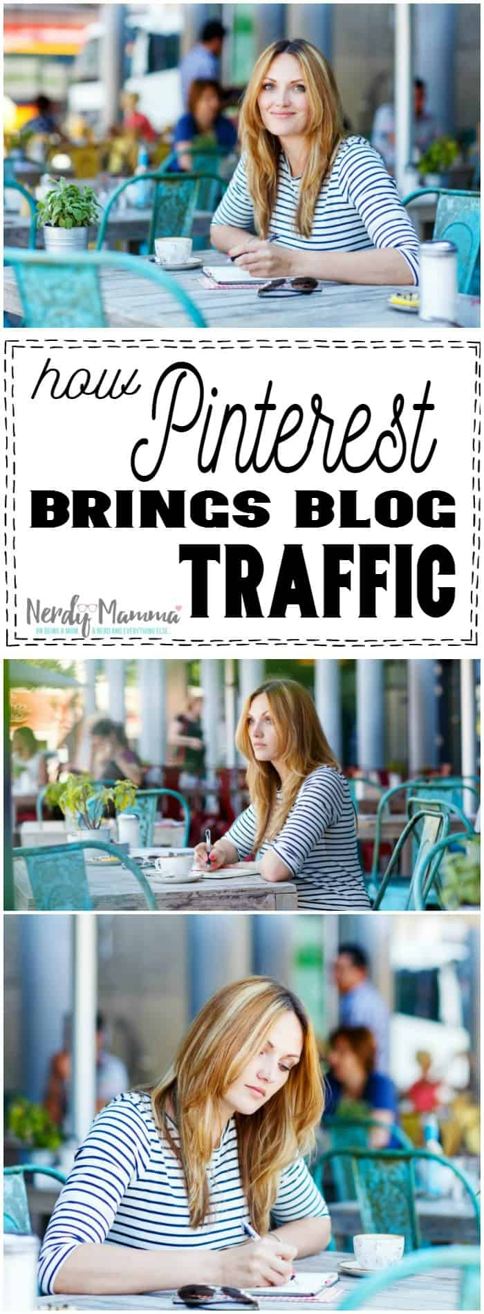 I really had no idea that was how Pinterest brought traffic to my blog. Good to know!