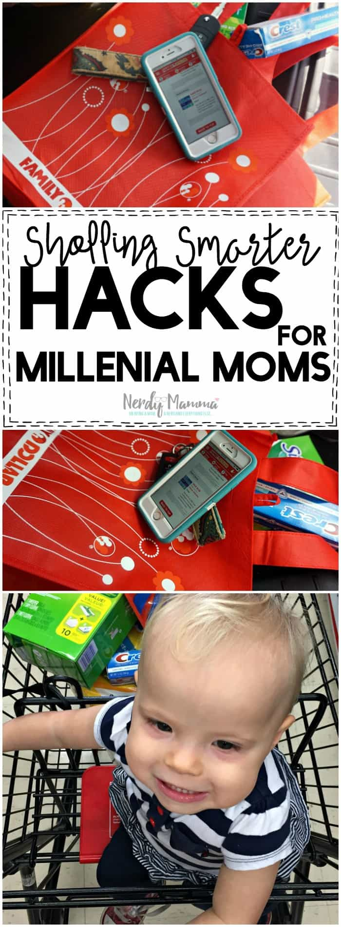I absolutely love these Shopping Smarter Hacks for Millenial moms! So simple!