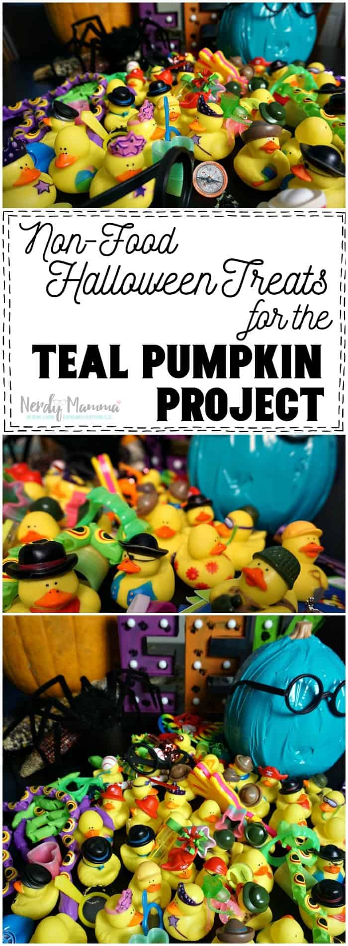 Oooooh! This is such an awesome idea list for non-food Halloween Treats for the Teal Pumpkin Project!