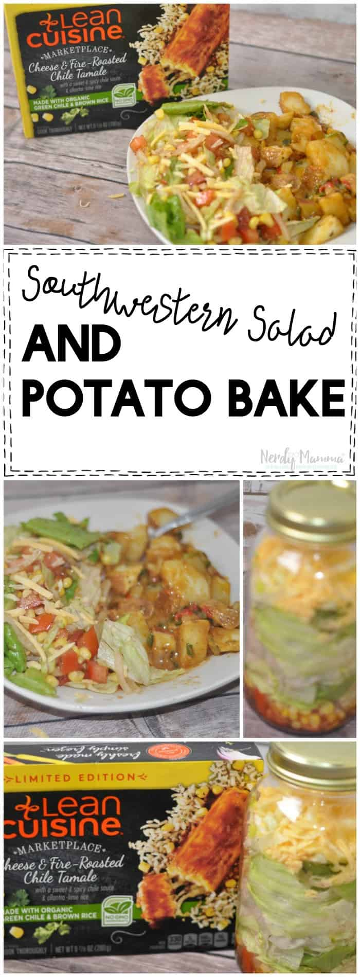 This Southwestern Salad and Potato to Bake is super easy to make and it's absolutely delicious! It's perfect for busy nights when you need a quick meal!