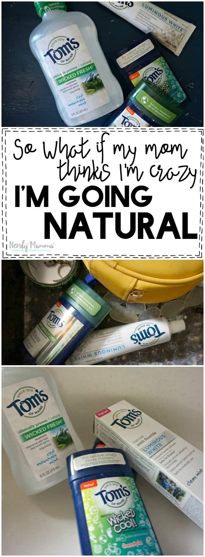 This is so interesting--this woman's journey to go natural seems so simple and easy! I might be able to do this.