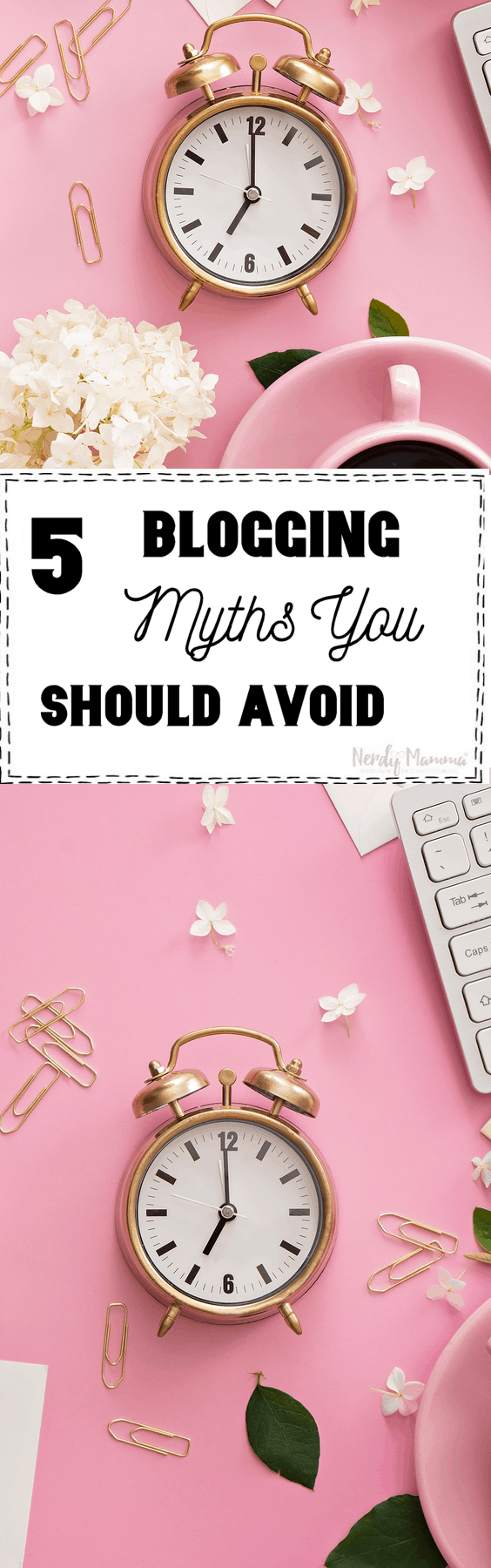Whether you're just a beginning blogger or you've been around for awhile there are some things that are crucial for you to know like these 5 Blogging Myths You Should Avoid.