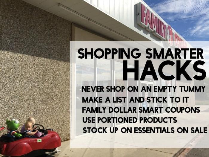 easy hacks for shopping smarter