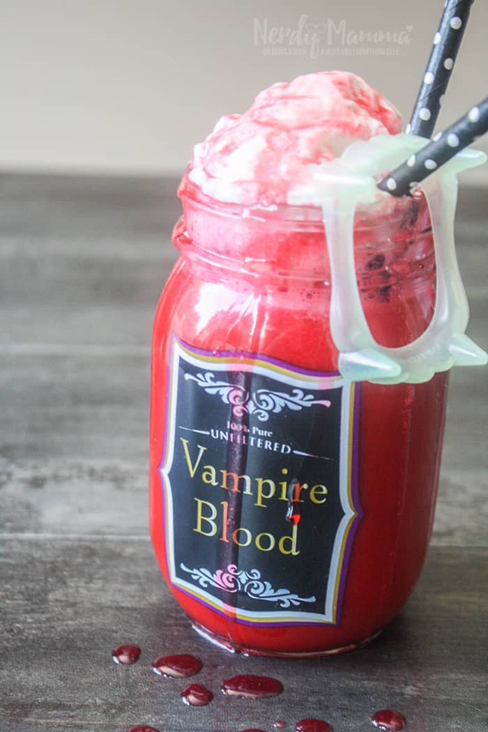 If you're looking for a spooky, fun, and easy Halloween drink for kids, this vampire red velvet hot chocolate is the perfect treat.