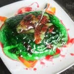 Calling all Jello fans! I've got the perfect Halloween treat for you: zombie brain jello dessert. It's a super fun treat for the Halloween season.