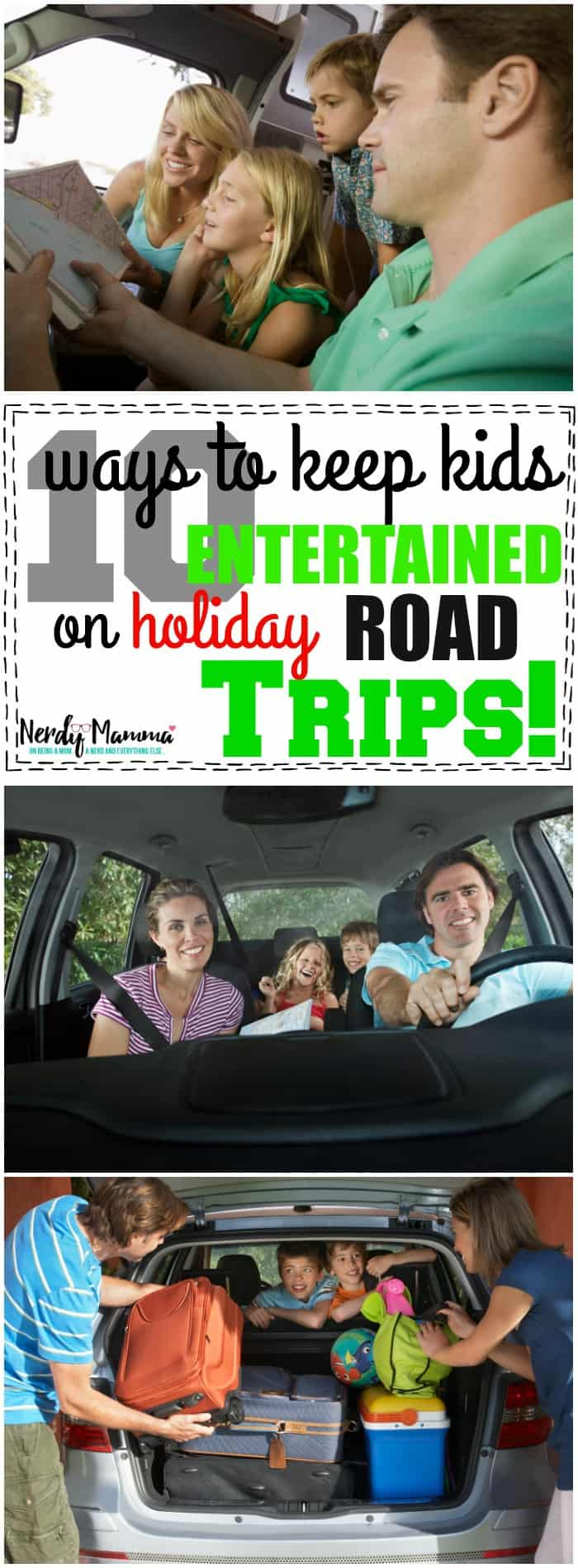 10 Ways to Keep Kids Entertained on Holiday Road Tips