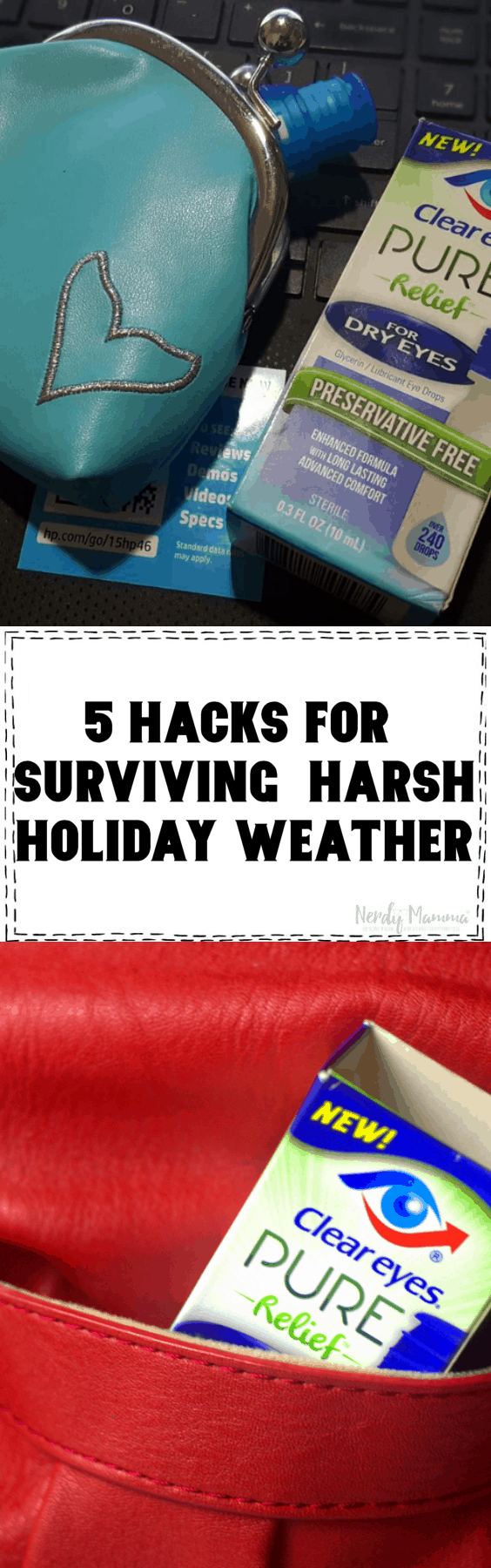 5 HACKS FOR SURVIVING HARSH HOLIDAY WEATHER
