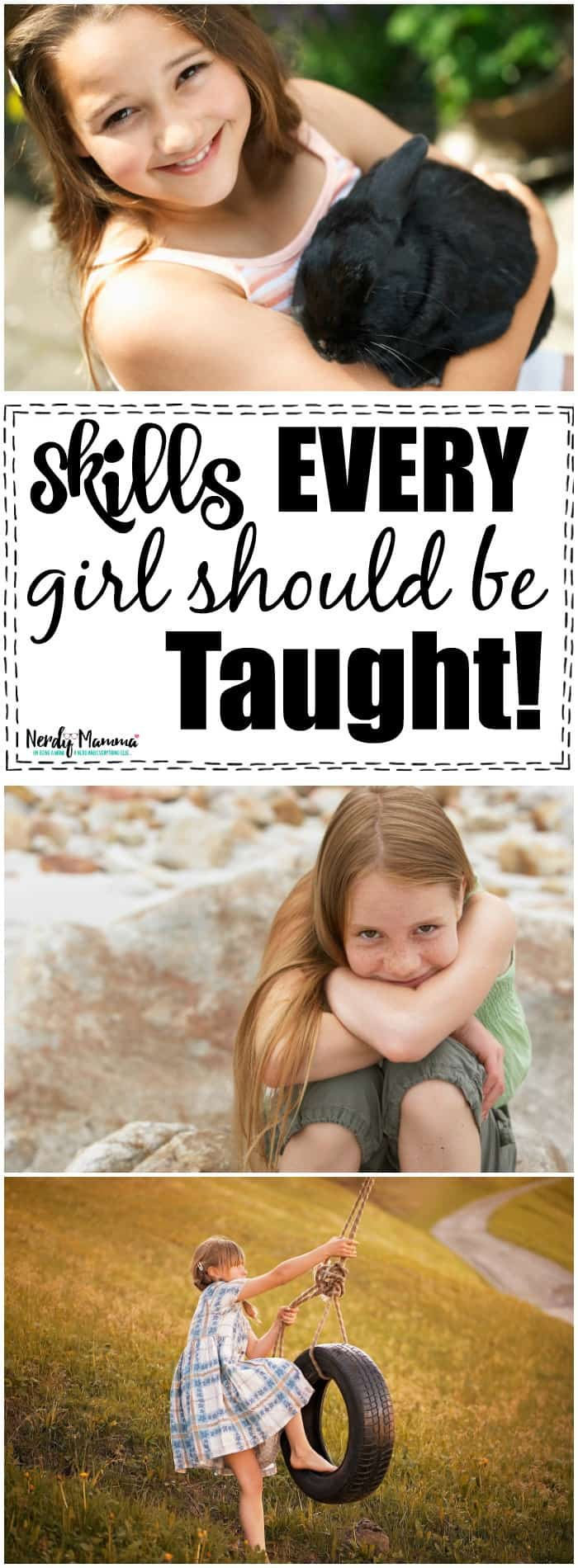 skills every girl should be taught