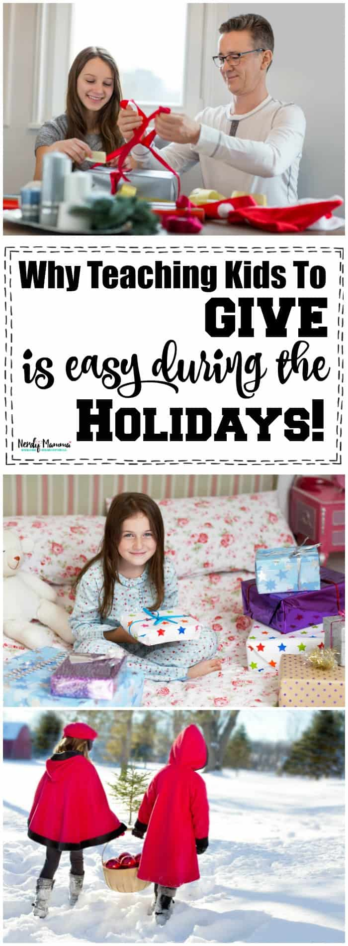 Why teaching kids to give is easy at the holidays