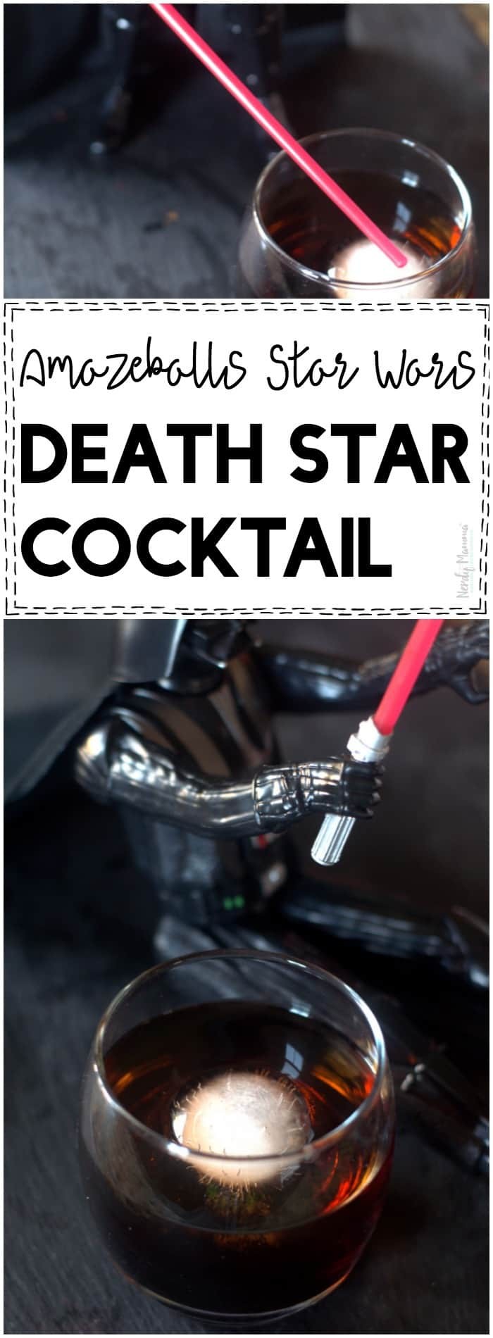 OMG you HAVE to try this AMAZEBALLS Star Wars Death Star Cocktail!