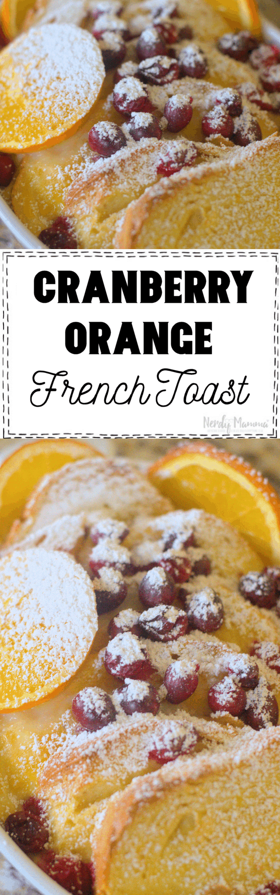 . Soon the blood oranges will be hitting the shelves and I tell you I cannot wait for that. This Cranberry Orange French Toast literally takes just minutes to put together.