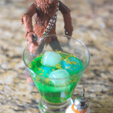 Galaxy Far, Far Away Star Wars Cocktail