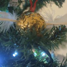Harry Potter Snitch Ornaments