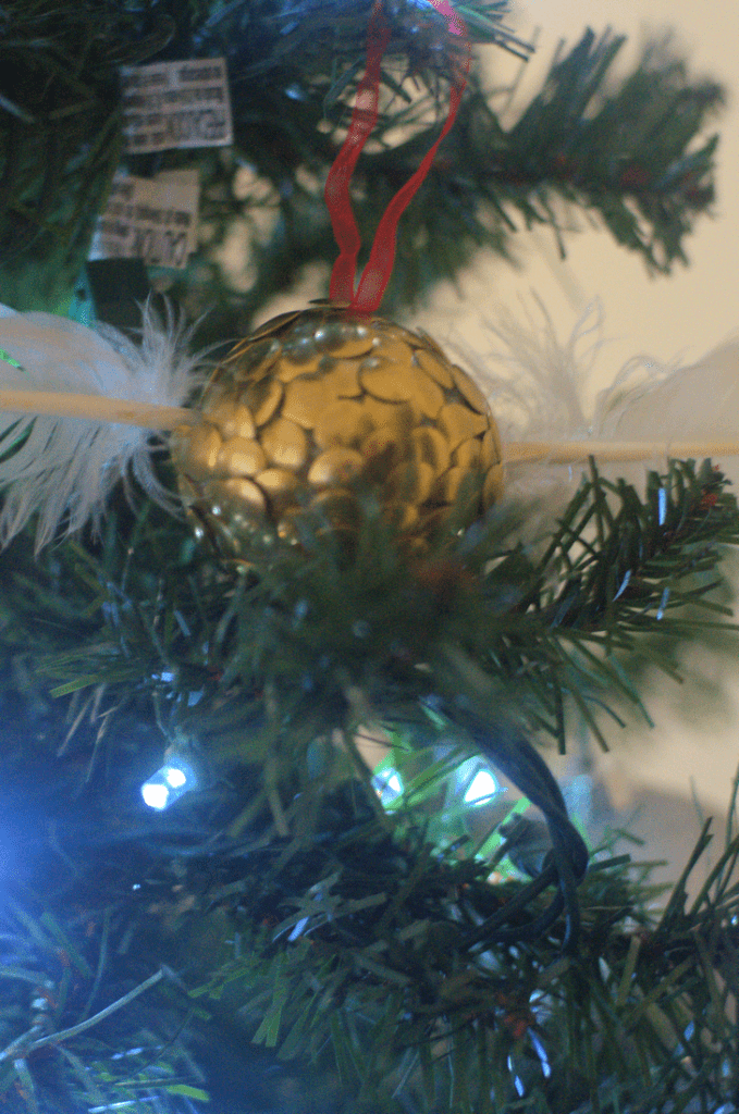 Harry Potter Snitch Ornaments