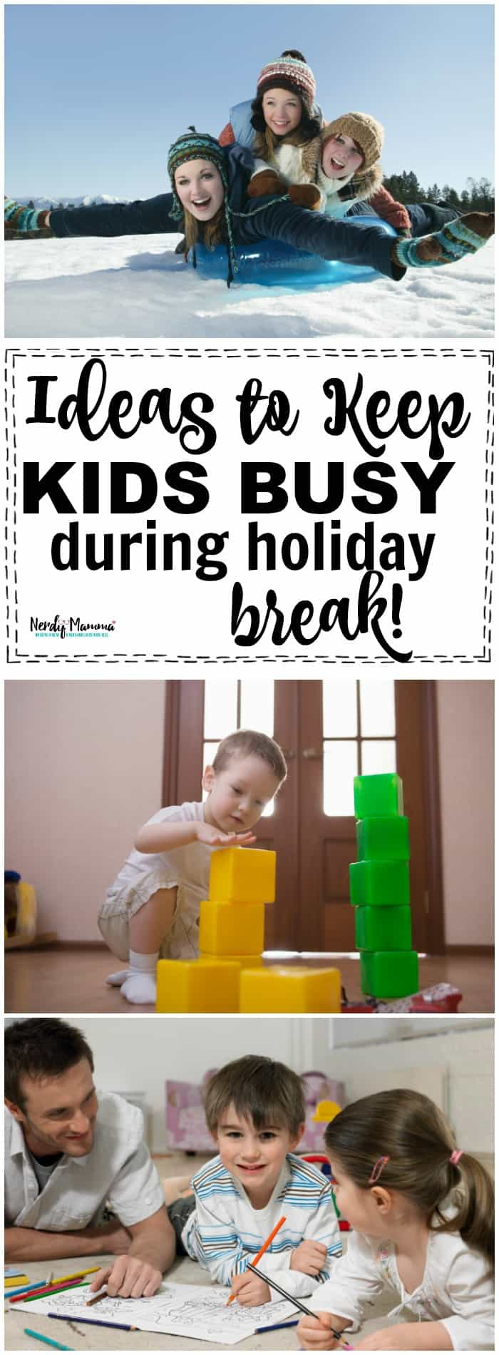 TOTALLY awesome ideas to keep kids busy during holiday breaks!