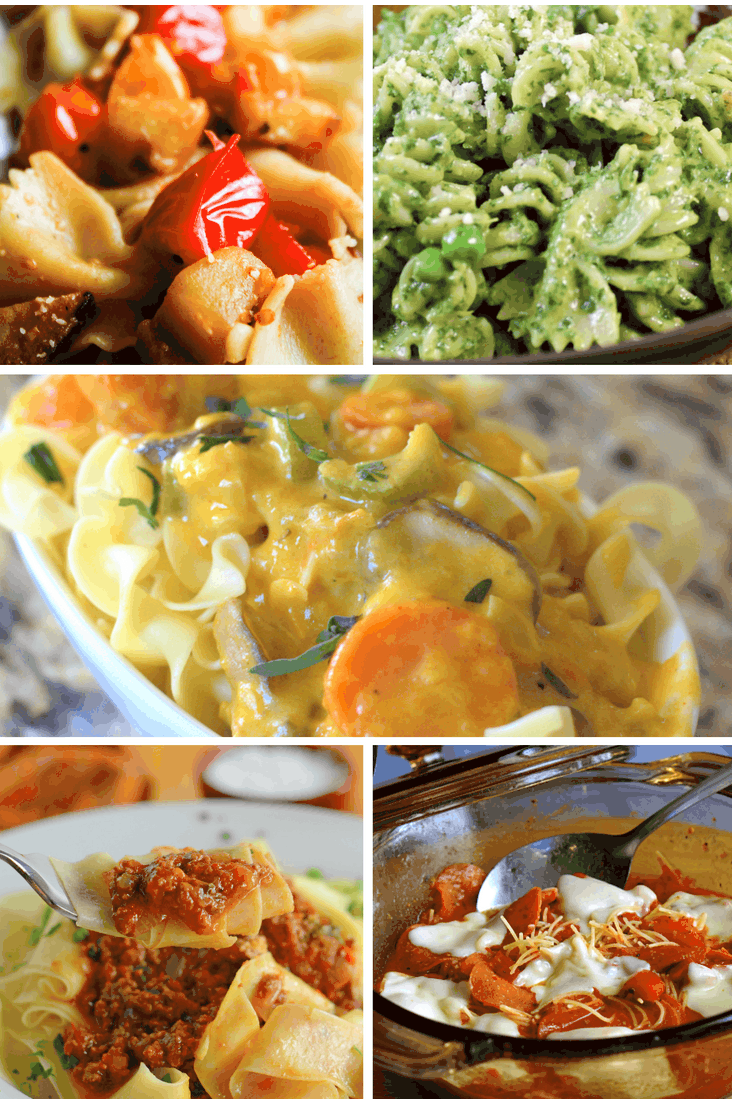 15 Perfectly Awesome Pasta Dinners