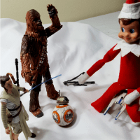 Elf On The Shelf Star Wars Style!