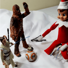 Elf On The Shelf Star Wars Style!