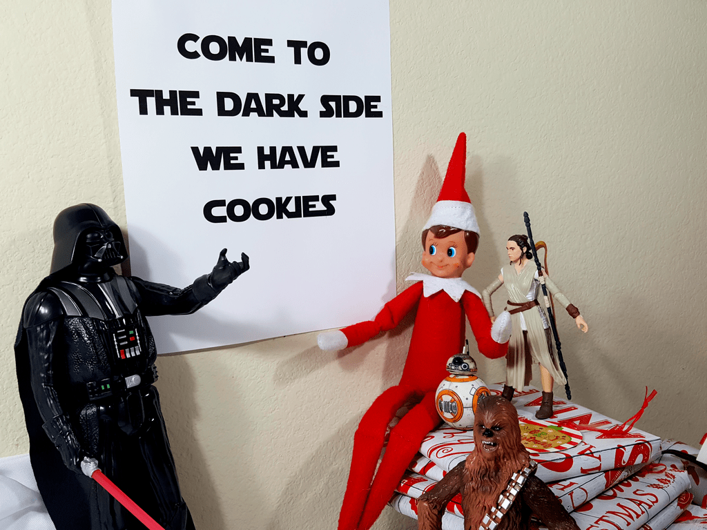 Elf On The Shelf Star Wars Style Nerdy Mamma