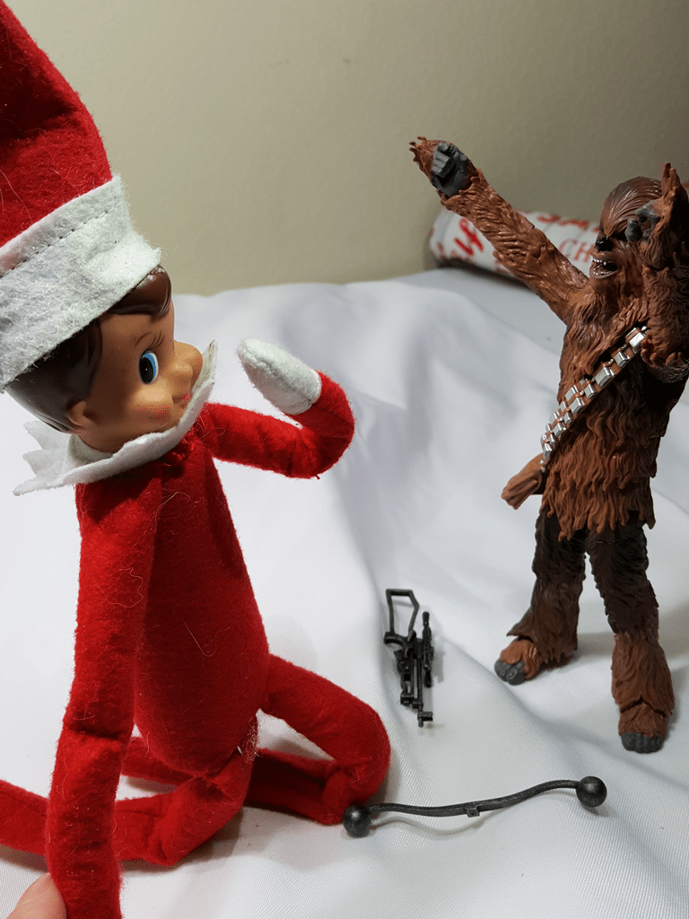 Star Wars Elf On The Shelf