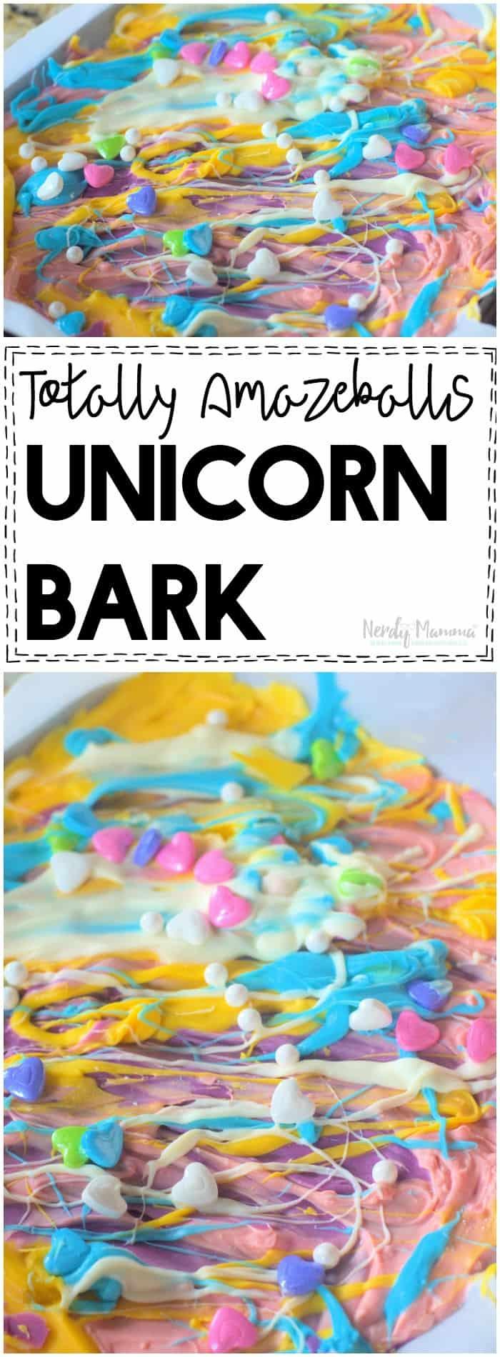 OMG, You MUST try this totally amazeballs unicorn bark!
