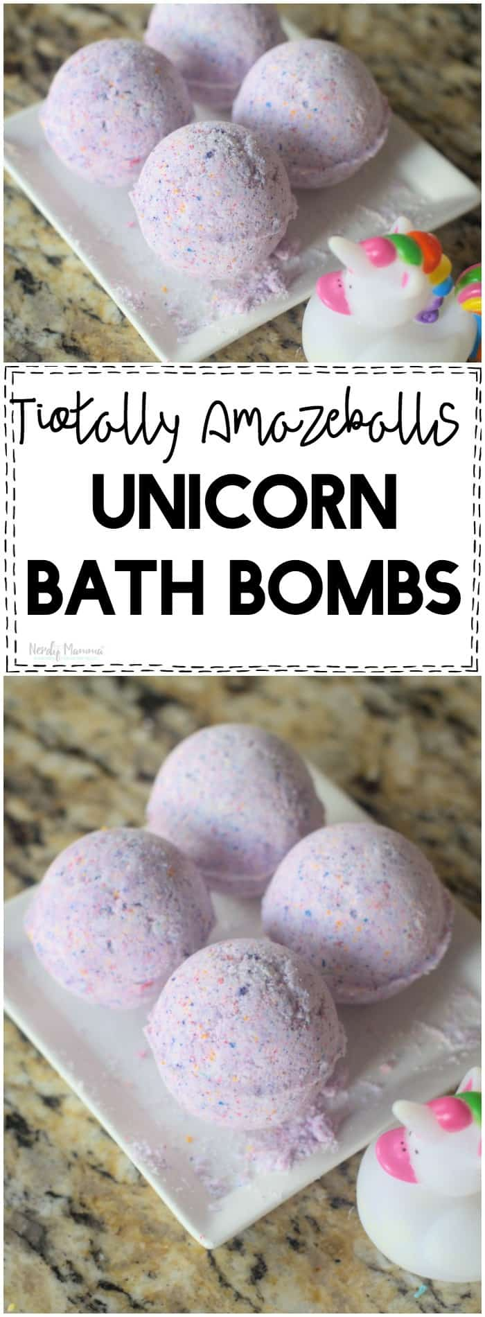 OMG these unicorn bath bombs are AMAZEBALLS!