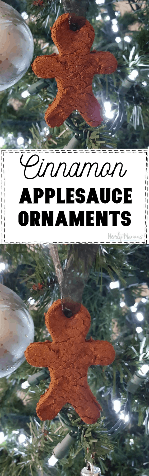 Cinnamon Applesauce Ornaments are the funniest creation I swear! They smell so darn good all through your home. It's like the smell of Christmas or fresh baked apple pie. They are so simple and so fun for the kids.