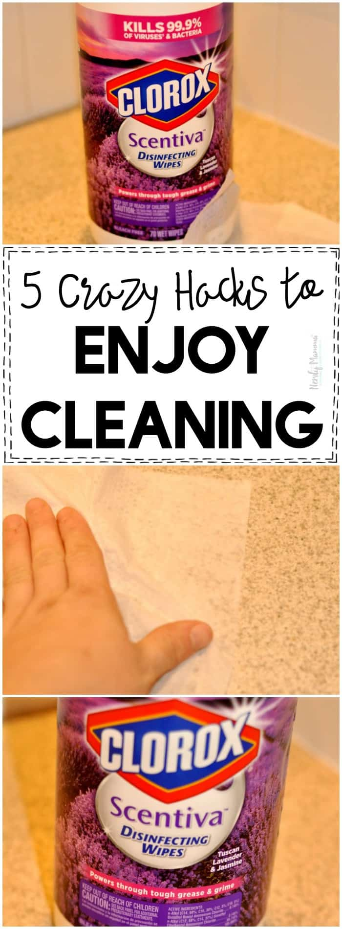 OMG! These tips ACTUALLY help me enjoy cleaning!