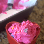 Conversation Heart Ice Cream