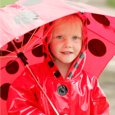 Outside Toddler Activities for Rainy Days